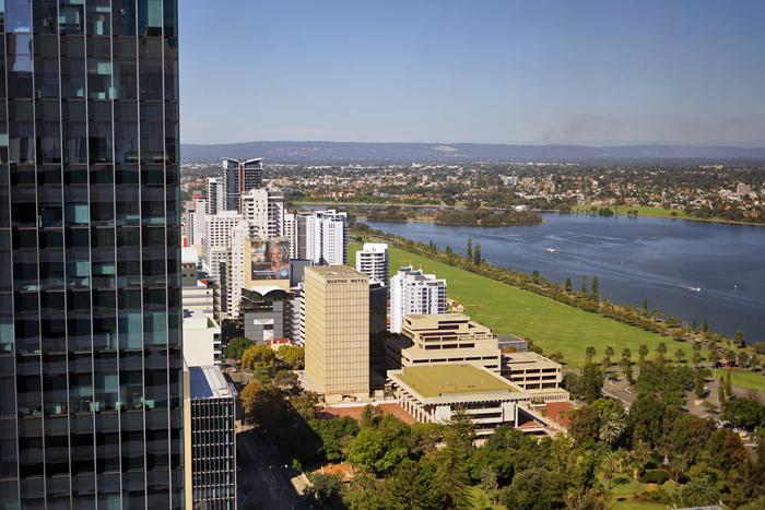 Perth City C Restaurant Views