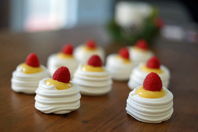 Lemon Meringue Nests