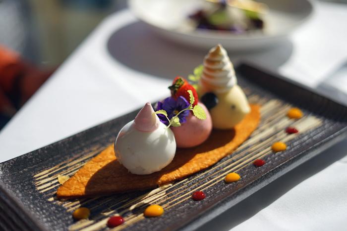C Restaurant Sorbet Selection