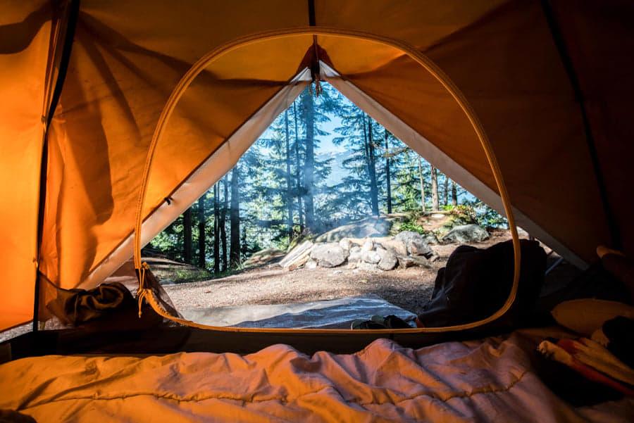 ultimate camping setup
