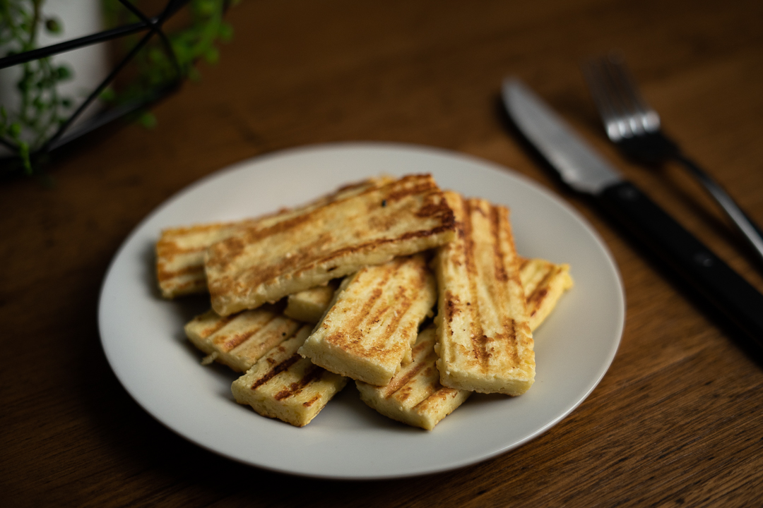 how to make halloumi recipe